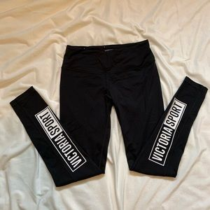 Victoria Secret Sport Black Pants Size M